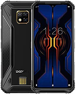 DOOGEE S95 Pro Rugged Phone, 48MP Camera, 8GB+128GB, IP68/IP69K, 5150mAh Battery, Face & Fingerprint ID, 6.3 inches Android 9.0 Pie Helio P90 Octa-Core, 4G, NFC, OTG, SOS, Wireless Charging(Black)
