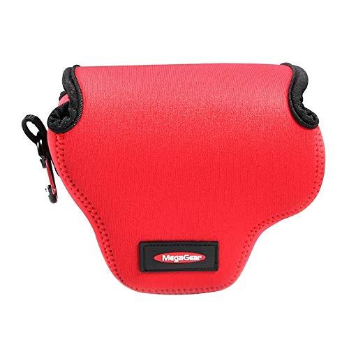 Consumer YHM Mini Tragbare Neopren Kameratasche & Hülle for Canon SX520 HS, Größe: 10 * 10 * 13 cm (Schwarz) (Color : Red)