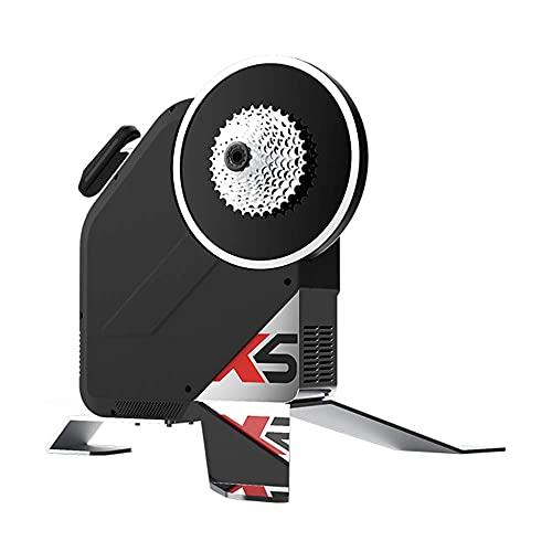 ThinkRider X5 Neo- Transmisión Directa Rodillo de Entrenamiento para Bicicleta Inteligente, Medidor de Potencia Incorporado, Compatible con Zwift