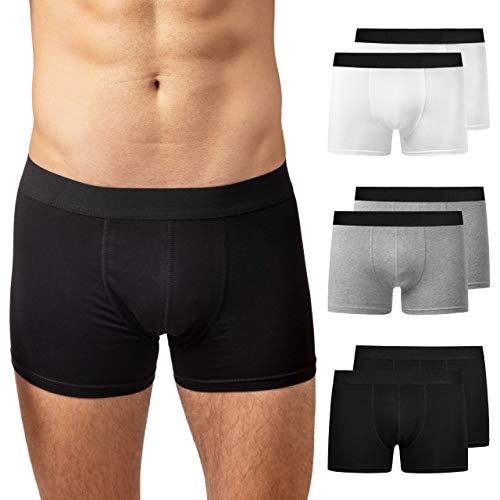 Snocks Boxershorts Herren Mix(ohne Logo) Größe M 6 Paar Unterhosen Männer Medium Herren Unterhosen Herren Boxershorts Baumwolle Herren Unterwäsche