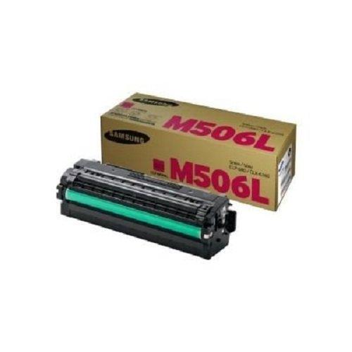 Samsung CLT-M506L/ELS Original Toner (Hohe Reichweite, Kompatibel mit: CLP-680ND/680DW/CLX-6260 Series) magenta
