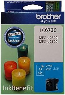 Brother Ink cartridge Cyan LC673C