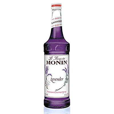 Monin - Lavender Syrup, Aromatic and Floral, Natural Flavors, Great for Cocktails, Lemonades, and Sodas, Vegan, Non-GMO, Gluten-Free