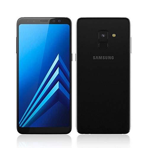 Smartphone Samsung Galaxy A8 Preto com 64GB, Dual Chip, Tela 5.6 , Android 7.1, Câmera 16MP, Proteção IP68, Processador Octa Core e RAM de 4GB