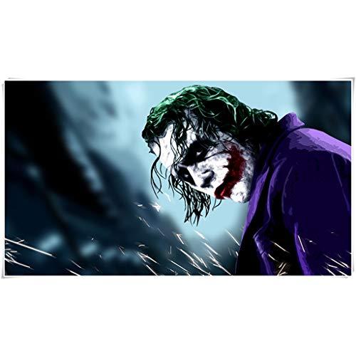 DJFT Joker Jigsaw Puzzle for Adulti Sollievo Stress for Bambini Cervello Grande Gioco Gioca Il Regalo della Ragazza di Coltivare l'immaginazione Marvel Comics Jigsaw (Color : B, Size : 1000 Pieces)