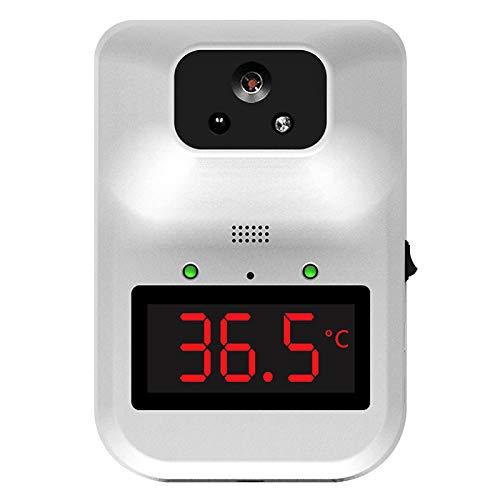 #N/A/a Termometro da parete per adulti, termometro a infrarossi a parete con allarme febbre lettura accurata Display LCD 0.5s misurazione rapida