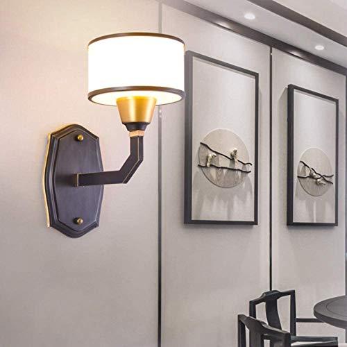 Lámpara de pared Lámpara de pared Estilo nórdico Lámpara de cabecera interior TV Aplicaciones Escaleras de iluminación Entrada Iluminación de pared Iluminación Lámpara de noche ( Color : 1 Light )