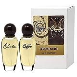 SERGIO NERO • Set de perfume Café & Chocolate para Mujeres: 2 frascos de agua de tocado...