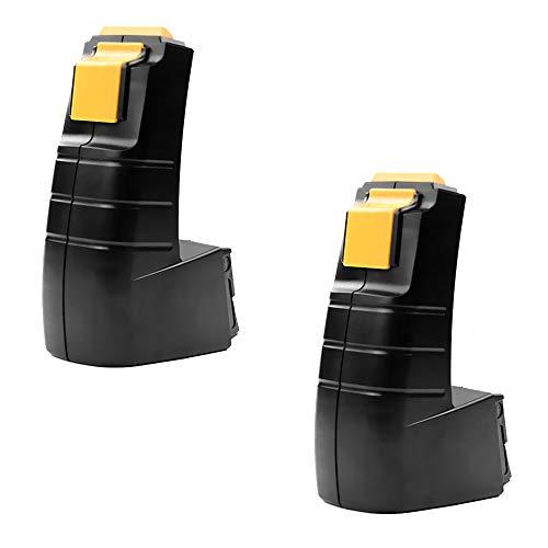 CELLONIC 2X Premium Akku (9.6V, 3Ah, NiMH) kompatibel mit FESTOOL CDD 9.6, CDD 9.6 ES, CDD 9.6 FX - BPH 9.6 C (488437) Ersatzakku Batterie Werkzeugakku