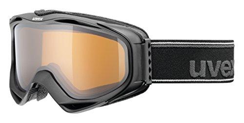 Uvex g.gl 300 pola Skibrille, Black mat, One Size