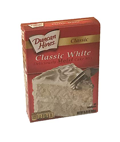 Duncan Hines Classic White Cake Mix (2 pack), 15.25oz