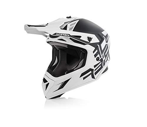 Acerbis Casque X-Pro VTR Noir/blanc XL