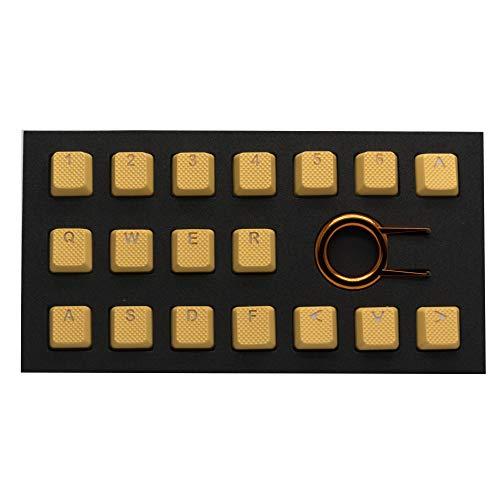 TaiHao ゴム製TPRゲームバックライト付きキーキャップセット チェリーMXメカニカルキーボード対応 OEM製品 ...