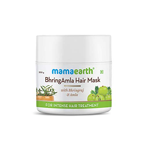 Mamaearth BhringAmla Hair Mask with Bhringraj & Amla for Intense Hair Treatment – 200 g