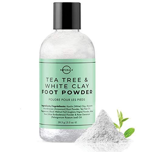 O Naturals Desodorante en Polvo para Pies y Cuerpo,con Aceites Esenciales...