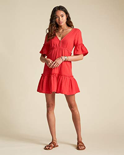 BILLABONG Kleid Lovers Wish Rio RED S