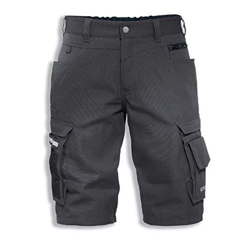 Uvex Perfexxion Premium 3854 Kurze Herren-Arbeitshose - Graue Männer-Shorts 52