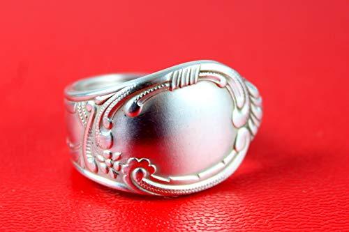 Rokoko Besteck Schmuck Ring, ca. 59 (19) Ring aus Besteck
