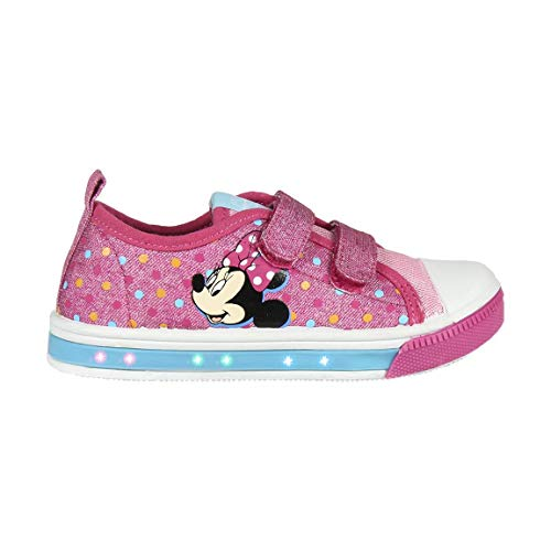 Cerdá Zapatilla Loneta Luces Minnie