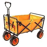 LLSS Carro de jardín Carro de Camping Carro Plegable portátil Carro de Cuatro Ruedas al Aire Libre Carro de Pesca de Compras Carros de fácil Transporte