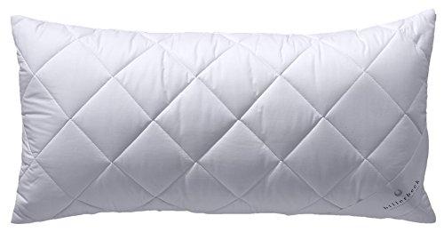 Billerbeck Faser Kopfkissen Star des Waschen–in viele Größen, Baumwolle, gebrochenes weiß, 040x080 cm