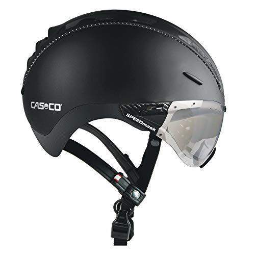 Casco Roadster Plus Visier Fahrradhelm - Schwarz Matt, Größe:M 55-57cm