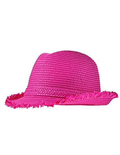 maximo Mädchen Hut Trilby, Rosa (dunkelpink 57), Gr. 53