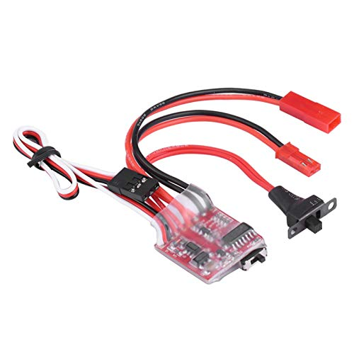 Cabrestante RC ESC, Controlador de Interruptor de cabrestante ESC, Accesorio de cabrestante Accesorio de Oruga RC para Coche RC a Escala 1/10