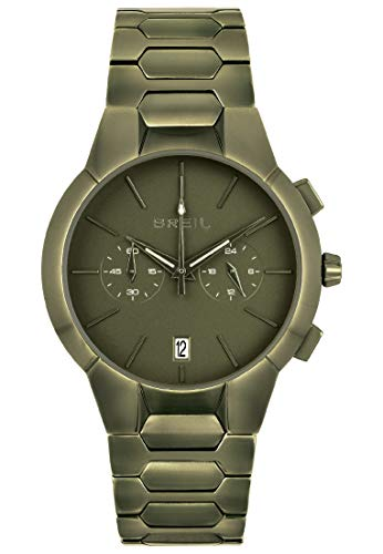 Uhr BREIL für Mann Modell New ONE mit stahlarmband, Chrono Quartz Bewegung