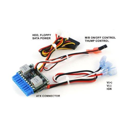 M3-ATX, 125 W output, 6 V tot 24 V brede ingang Intelligent Automotive DC-DC Car PC Power Supply