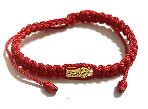 Pulsera Roja de hilo de San Judas Tadeo Rojo Pulsera Roja de hilo de San Judas Tadeo
