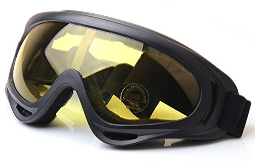 WorldShopping4U Táctico UV400 Anti-UV Snowboard Gafas de Sol Gafas de Sol Gafas A Prueba...