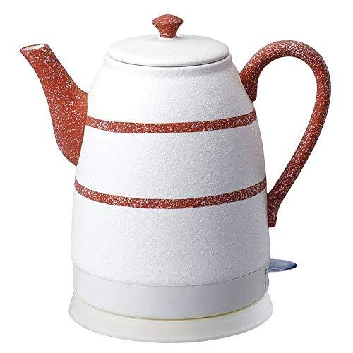 Bouilloires Bouilloire électrique sans fil |Thé en céramique Pot |1.6L |1500W |Arrêt automatique à sec Protection Ébullition rapide (Couleur: Rouge) 8bayfa (Color : Red)