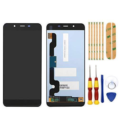 AiBaoQi 100% Original For Oukitel U25 Pro LCD&Touch Screen Digitizer Display Screen Module Repair Replacement Accessories (Black no Frame)