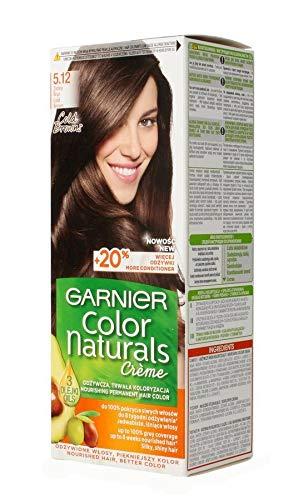 Garnier Color Naturals Creme Haarfärbecreme 5.12 Dunkelbraun