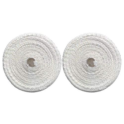 Hemoton 2Pcs Baumwolle Fleischnetz Schinken Socke Elastische Baumwolle Wurstnetz für zu Hause Küche Weihnachten Neujahr Wurst Fleisch Machen Lieferungen (Weiß 3M)