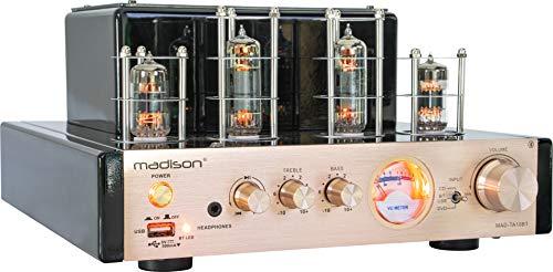 Madison MAD-TA10BT amplificatore valvolare Hifi, Bluetooth 2.1+EDR