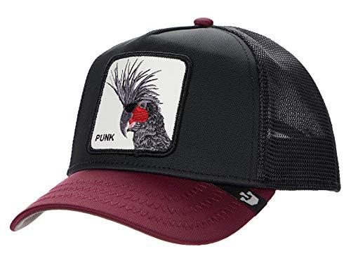 Goorin Bros. Trucker Cap Punk SQWAUK Schwarz, Size:ONE Size
