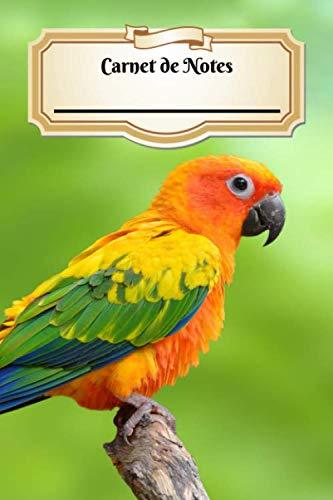 Carnet De Notes: Conure Soleil | Oiseau | A5 139 Pages Avec Papier Pointillé | Bullet Journal | Art Notes | Cahier | Dotted Journal | Notebook | Espace pour votre nom, classe, cours