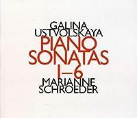 Piano Sonatas 1-6 by Galina Utsvolskaya (2011-04-05)