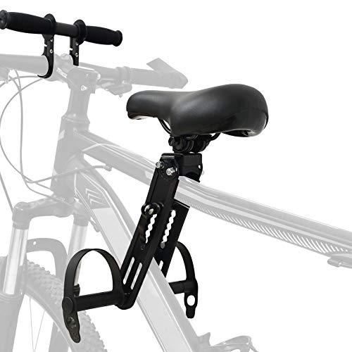 Hoomall Kinderfahrradsitz Für Mountainbikes Faltbare Kinderfahrradsitz Vorne Montierte Fahrradsitze Fahrrad Abnehmbarer Mountainbike Kindersitz von 2 Bis 5 Jahren bis Zu 48 Pfund