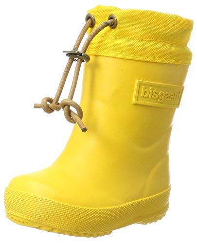 Bisgaard Unisex-Kinder Winter Thermo Gummistiefel, Gelb (80 Yellow), 28 EU