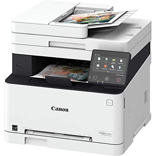 Canon 3-in-1 Wireless Laser Printer imageCLASS MF632Cdw (Renewed) Printer, Scanner, Copier + Cartridge Set, Compatible with Canon Office Home Printer