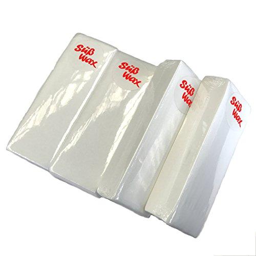 400 Süß Wax Vliesstreifen für Haarentfernung, Wachspatronen, Epilation, Sugaring und Waxing