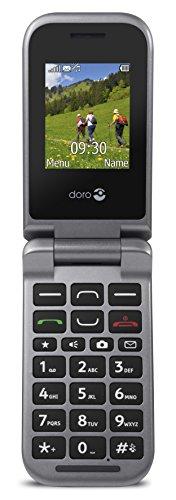 Doro PhoneEasy 609 GSM Mobiltelefon mit großem beleuchtetem Farbdisplay (2MP Kamera)