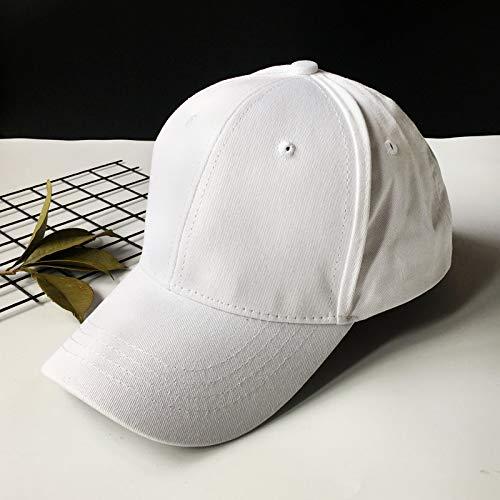 Sombrero Gorras de Primavera y Verano para Hombres versión Coreana de los Sombreros de protección Solar Marea Gorra de béisbol con sombrilla de Moda Salvaje Casual para Mujeres