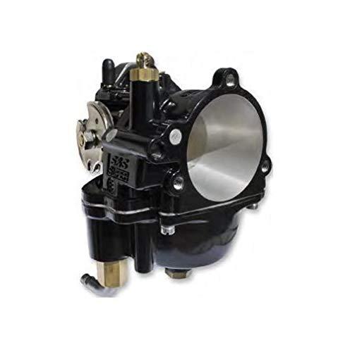 S&amp,S Cycle Black Super E Carburetor 110-0099