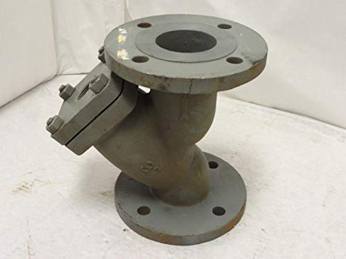 Lowest Prices! Mueller Steam 3 781 CS-N Cast Iron Strainer Y Pattern 3 Flange