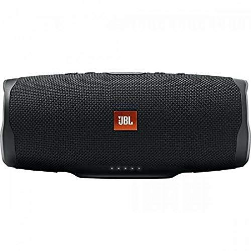 JBL Charge 4 Speaker Bluetooth Portatile Cassa Altoparlante Bluetooth Waterproof IPX7 con Microfono, Porta USB, JBL Connect+ e Bass Radiator, fino a 20 h di Autonomia, Nero