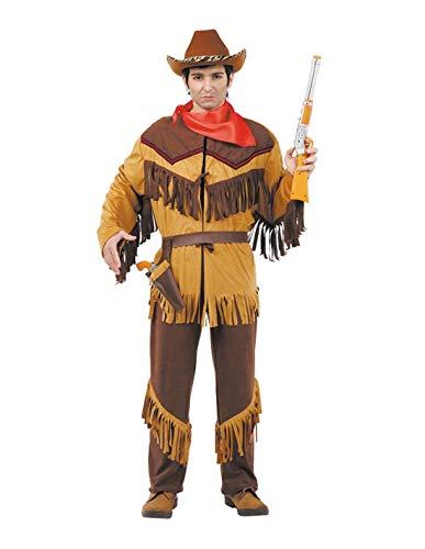 DISBACANAL Disfraces de Vaquero Hombre - -, XXS